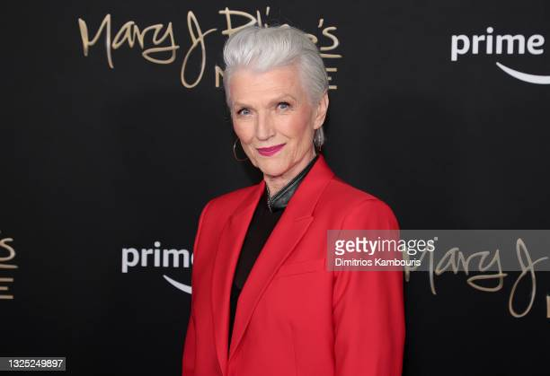 Maye Musk attends 'Mary J Blige: My Life' premiere presented by Amazon Studios at Rose Theater at Jazz at Lincoln Center's Frederick P. Rose Hall on...