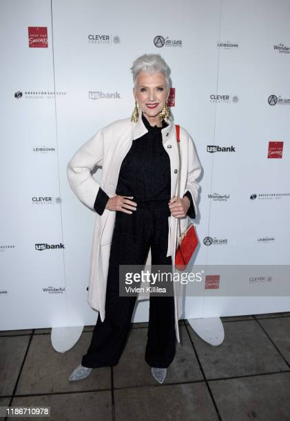Maye Musk attends Shop For Success Benefiting Dress For Success VIP Grand Opening on December 5, 2019 in Los Angeles, California.