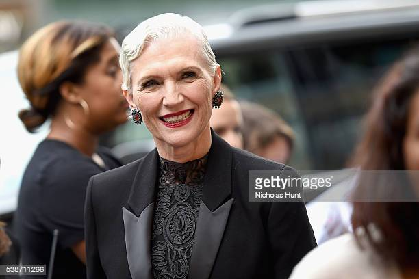 Maye Musk attends the 2016 Fragrance Foundation Awards presented by Hearst Magazines on June 7 2016 in New York City
