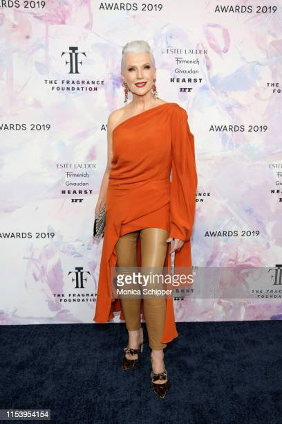 Maye Musk attends the 2019 Fragrance Foundation Awards at David H Koch Theater at Lincoln Center on June 05 2019 in New York City
