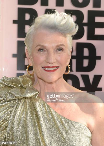 Maye Musk attends the Beats By Dre for Violet Gray party on July 11 2018 in West Hollywood California