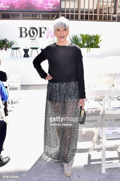 Maye Musk attends the BoF West Summit at Westfield Century City on June 18 2018 in Century City California