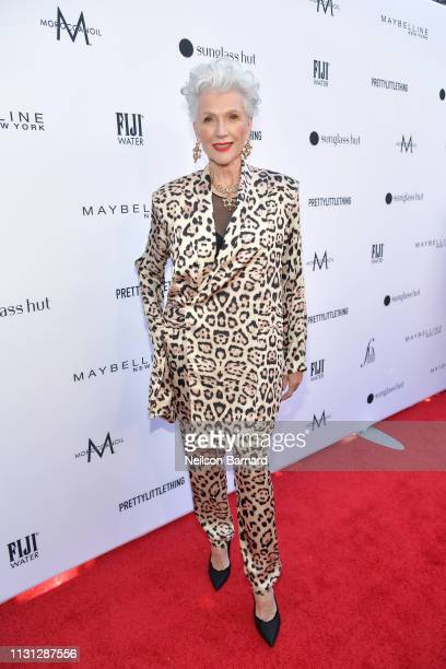 Maye Musk attends The Daily Front Row Fashion LA Awards 2019 on March 17 2019 in Los Angeles California