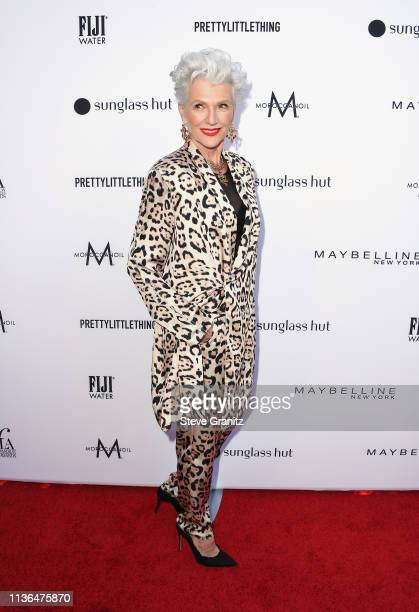 Maye Musk attends the Daily Front Row's 5th Annual Fashion Los Angeles Awards at Beverly Hills Hotel on March 17 2019 in Beverly Hills California