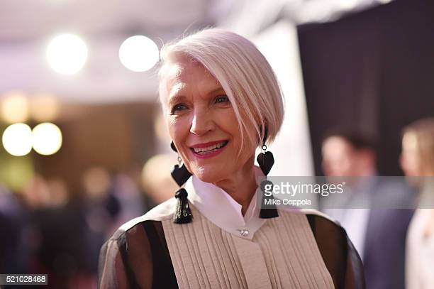 Maye Musk attends the First Monday In May world premiere during the 2016 Tribeca Film Festival opening night at BMCC John Zuccotti Theater on April...