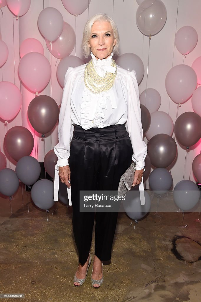 Maye Musk attends the Jimmy Choo 20th Anniversary Event during New York Fashion Week on September 8, 2016 in New York City.