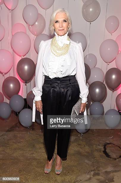 Maye Musk attends the Jimmy Choo 20th Anniversary Event during New York Fashion Week on September 8 2016 in New York City