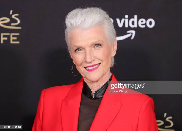 """Maye Musk attends the """"Mary J Blige's My Life"""" New York Premiere at Rose Theater, Jazz at Lincoln Center on June 23, 2021 in New York City."""