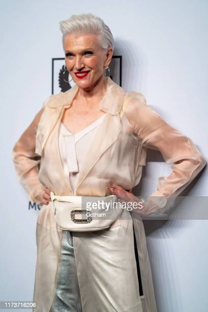 Maye Musk attends the Mosaic Federation Gala Against Human Slavery at Cipriani 42nd Street on September 10 2019 in New York City