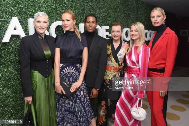 Maye Musk Petra Nemcova Hassan Pierre Caroline Scheufele Amanda Hearst and Karolina Kurkova attend MAISONDEMODECOM Sustainable Style Gala at Sunset...