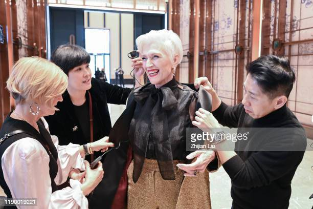 """Maye Musk prepares her new book """"A Woman Makes A Plan"""", for her first book launch salon and sharing session to talk about the value of life with..."""