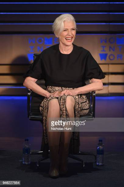 Maye Musk speaks onstage at the 2018 Women In The World Summit at Lincoln Center on April 14 2018 in New York City