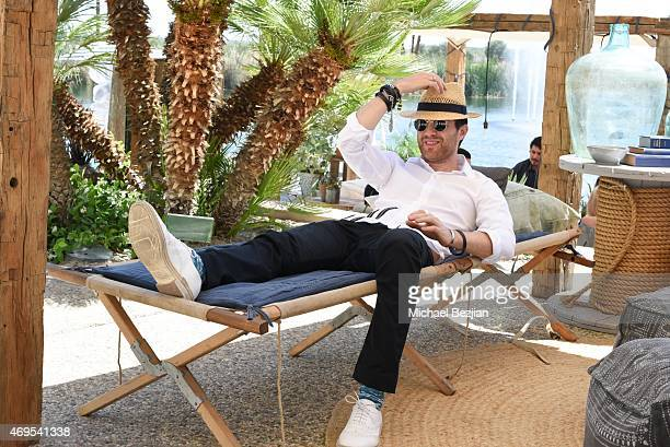 Mayer Hawthorne attends a private brunch hosted by Tom Windish at Soho Desert House on April 12, 2015 in La Quinta, California.