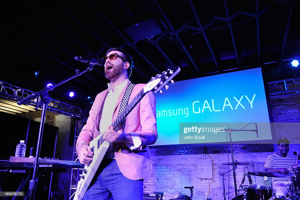 Mayer Hawthorne performs at The Samsung Galaxy Sound Stage at SXSW on March 12, 2013 in Austin, Texas.