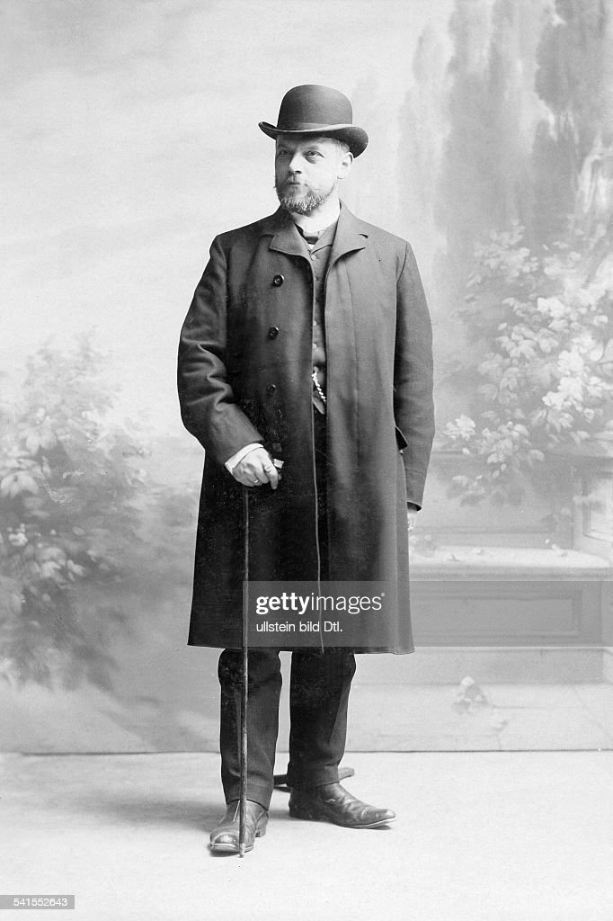 Mayer, Wilhelm - Jurist, Germany*1863-1925+Higher regional court judge - known as 'Vergleichsmayer' or 'The good judge'- pseudonym as author: Wilhelm Herbert - 1908Vintage property of ullstein bild : Nachrichtenfoto