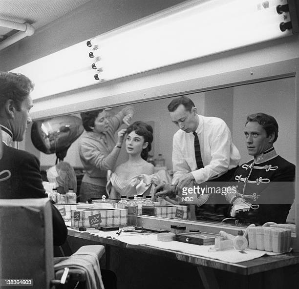 PRODUCERS' SHOWCASE Mayerling Episode 7 Aired Pictured Audrey Hepburn as Marie Vetsera NBC makeup director Dick Smith Mel Ferrer as Crown Prince...