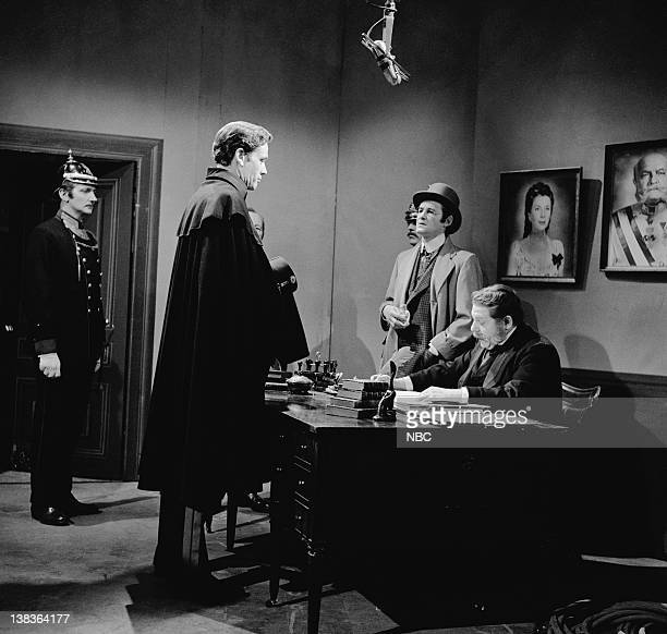 PRODUCERS' SHOWCASE Mayerling Episode 7 Aired Pictured Mel Ferrer as Crown Prince Rudolph Basil Sydney as Emperor