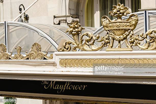 mayflower hotel in washington dc. - the mayflower stock photos and pictures