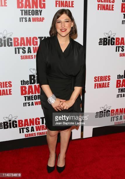 Mayim Bialik attends series finale party for CBS' The Big Bang Theory at The Langham Huntington Pasadena on May 01 2019 in Pasadena California