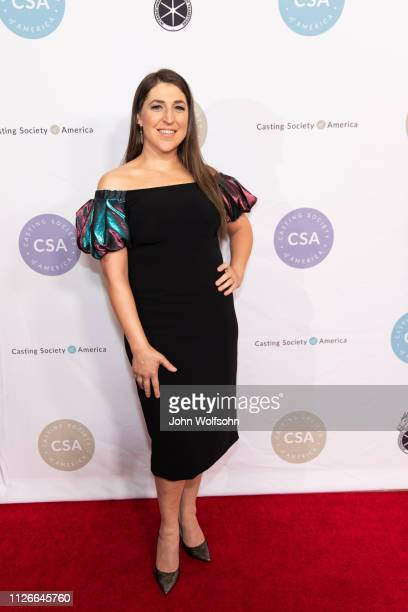 Mayim Bialik attends The Casting Society of America's 34th Annual Artios Awards at The Beverly Hilton Hotel on January 31 2019 in Beverly Hills...