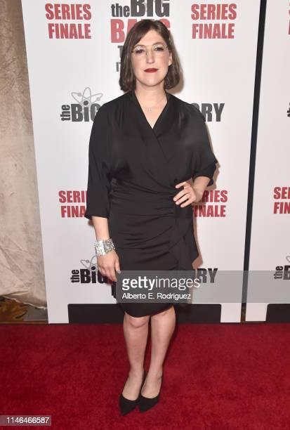 Mayim Bialik attends the series finale party for CBS' The Big Bang Theory at The Langham Huntington Pasadena on May 01 2019 in Pasadena California