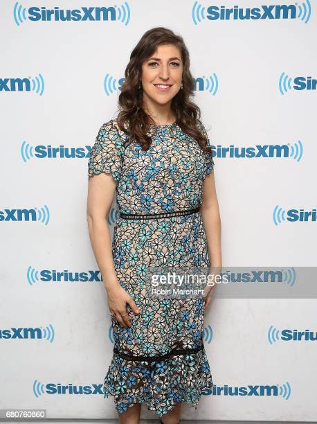 Mayim Bialik visits at SiriusXM Studios on May 9 2017 in New York City