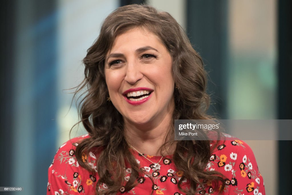 "Build Presents Mayim Bialik  Discussing Her New Book ""Girling Up: How to Be Strong, Smart and Spectacular"" : News Photo"