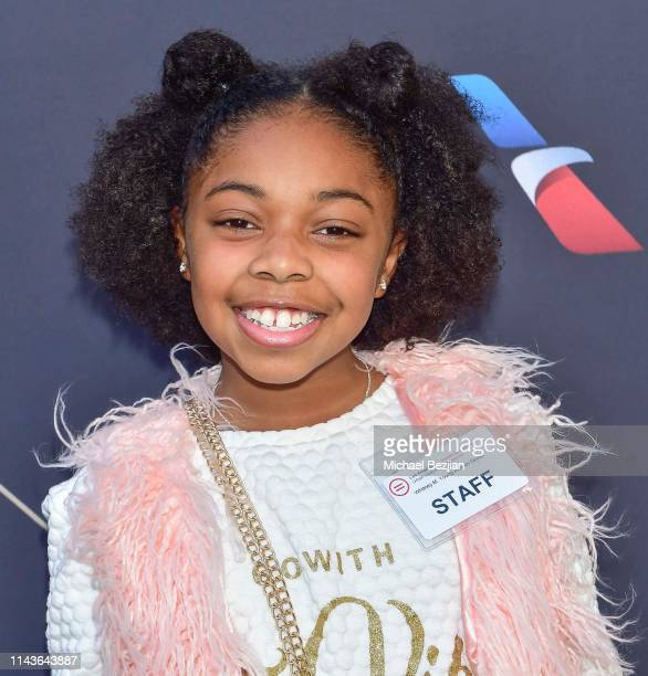 Maylah Chanel attends Byron Allen Honored by Los Angeles Urban League on April 18 2019 in Hollywood California