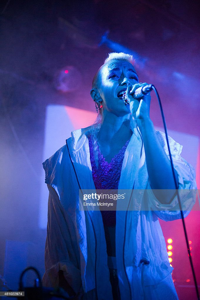 Maylee Todd of Ark Analog performs at the 2014 NXNE music festival at Tattoo on June 21, 2014 in Toronto, Canada.
