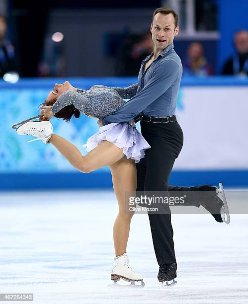 Maylin Wende and Daniel Wende of Germany compete in the Figure Skating Pairs Short Program during the Sochi 2014 Winter Olympics at Iceberg Skating...