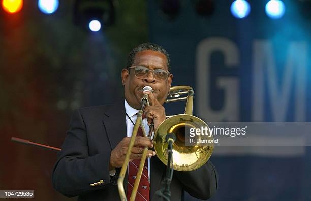 Maynard Chatters of Preservation Hall Jazz Band during General Motors presents The 26th Annual Atlanta Jazz Festival in Atlanta Georgia United States