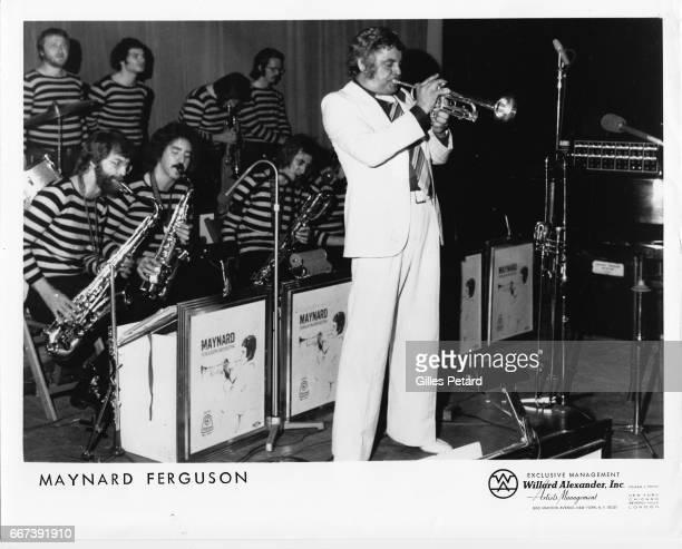 Maynard Ferguson performs on stage United States 1970