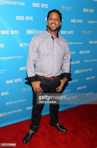 Maynard Jackson III attends the 2017 DOC NYC World Premiere of 'Maynard' at IFC Center on November 16 2017 in New York City