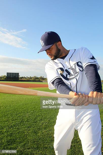 Mayo Acosta during the Tampa Bay Rays Spring Training workout at Charlotte Sports Park in Port Charlotte FL