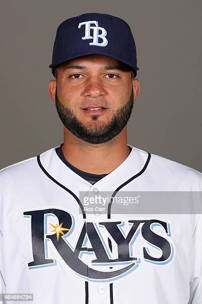 Mayo Acosta of the Tampa Bay Rays poses for a photo on photo day at Charlotte Sports Park on February 27 2015 in Port Charlotte Florida