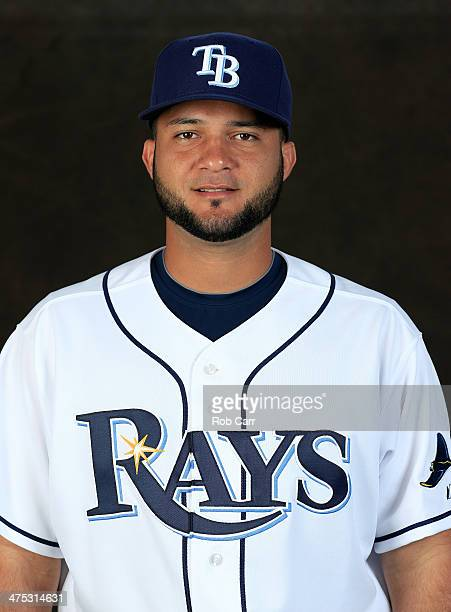 Mayo Acosta of the Tampa Bay Rays poses for a portrait at Charlotte Sports Park during photo day on February 26 2014 in Port Charlotte Florida