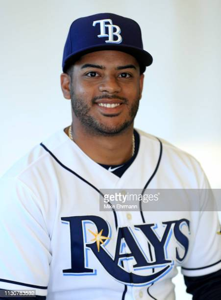 Mayo Acosta of the Tampa Bay Rays poses for a portrait during photo day on February 17 2019 in Port Charlotte Florida