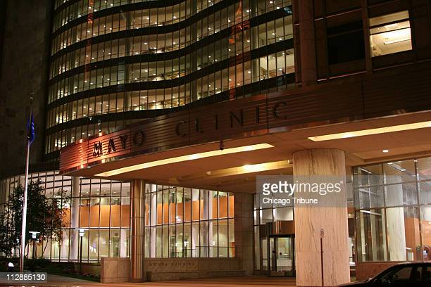 Mayo Clinic in the heart of downtown Rochester Minnesota is the city's employment tourism and cultural engine