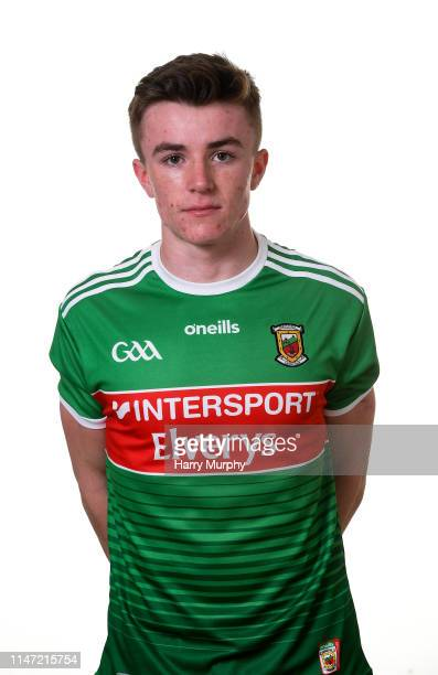Mayo Ireland 31 May 2019 Ben Doyle during a Mayo Football squad portraits session in Elverys MacHale Park in Castlebar Mayo