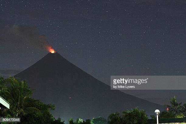 Mayon by night