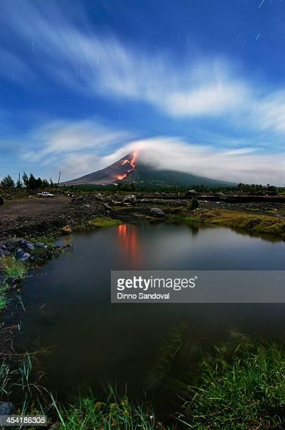 Mayon lava flow