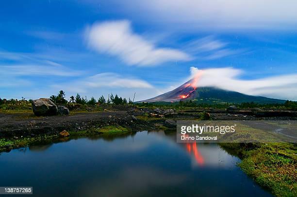 Mayon Lava Flows