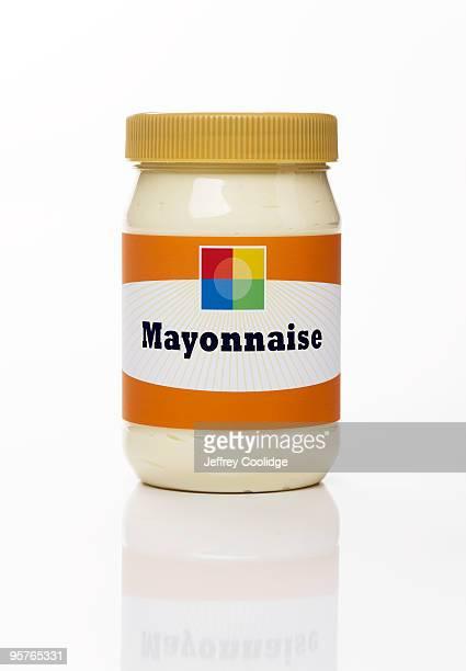 mayonnaise jar - mayonnaise stock photos and pictures