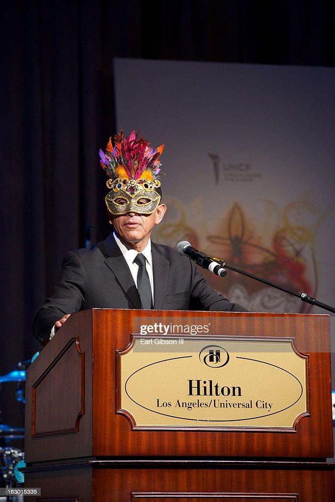 Mayor Antonio Villaraigoa attends the UNCF Mayor's Maksed Ball at Hilton Universal City on March 2, 2013 in Universal City, California.
