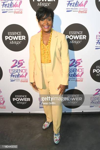 Mayor Keisha Lance Bottoms attends 2019 ESSENCE Festival Presented By CocaCola at Ernest N Morial Convention Center on July 06 2019 in New Orleans...