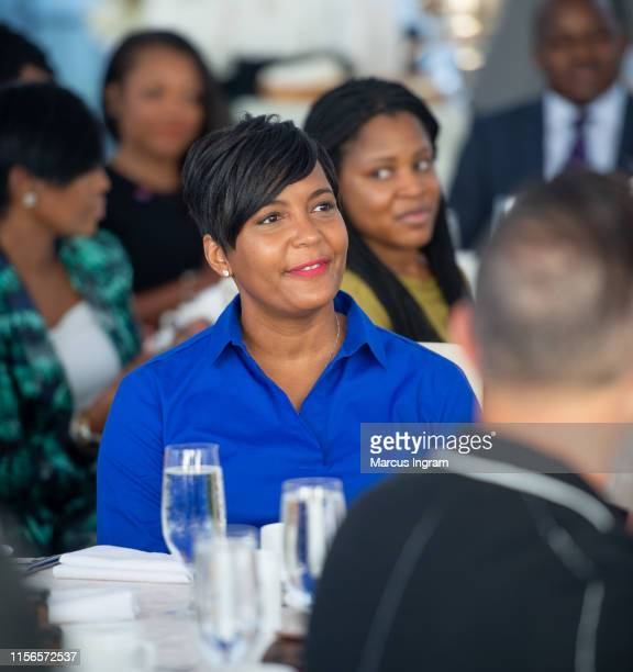 Mayor Keisha Lance Bottoms attends the City of Hope Sylvia Rhone Spirit Of Life Kickoff Breakfast at St Regis Atlanta on June 17 2019 in Atlanta...