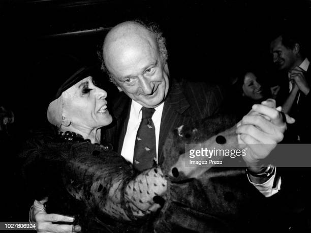 Mayor Koch and Louise Nevelson circa 1979 in New York