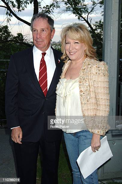 Mayor Michael Bloomberg and Bette Midler during Bette Midler's New York Restoration Project's 5th Annual Spring Picnic at Highbridge Park in New York...