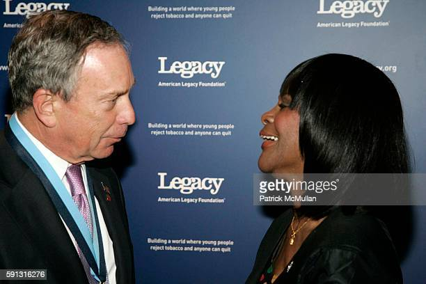 Mayor Michael Bloomberg and Cicely Tyson attend The American Legacy Foundation's Honors Event a Gala Recognizing Leadership In Helping To Build A...