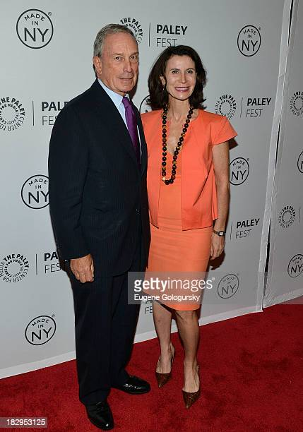Mayor Michael Bloomberg and Katherine Oliver attend Orange Is the New Black during 2013 PaleyFest Made In New York at The Paley Center for Media on...